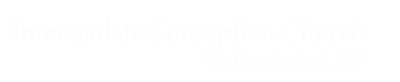 Immaculate Conception Church, New Cumberland Logo